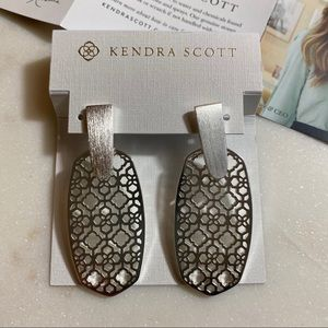 Kendra Scott | Aragon Filigree Earrings in Silver